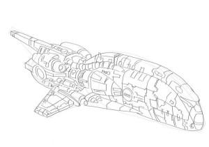 Как-нарисовать-ракету-карандашом-поэтапно-4