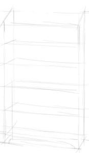 Как-нарисовать-шкаф-карандашом-поэтапно-1