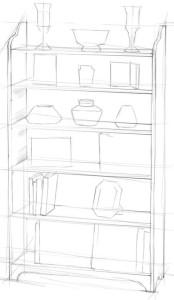 Как-нарисовать-шкаф-карандашом-поэтапно-2