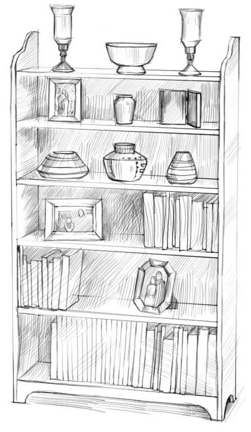 Как нарисовать шкаф?