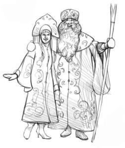 Как-нарисовать-снегурочку-карандашом-4