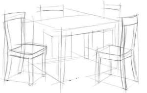 Как-нарисовать-стол-карандашом-поэтапно-2