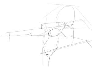 Как-нарисовать-стрелка-карандашом-поэтапно-2
