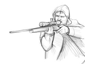 Как-нарисовать-стрелка-карандашом-поэтапно-4