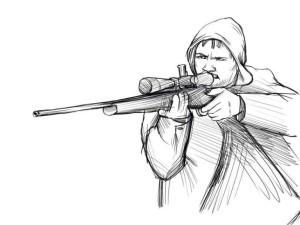 Как-нарисовать-стрелка-карандашом-поэтапно-5