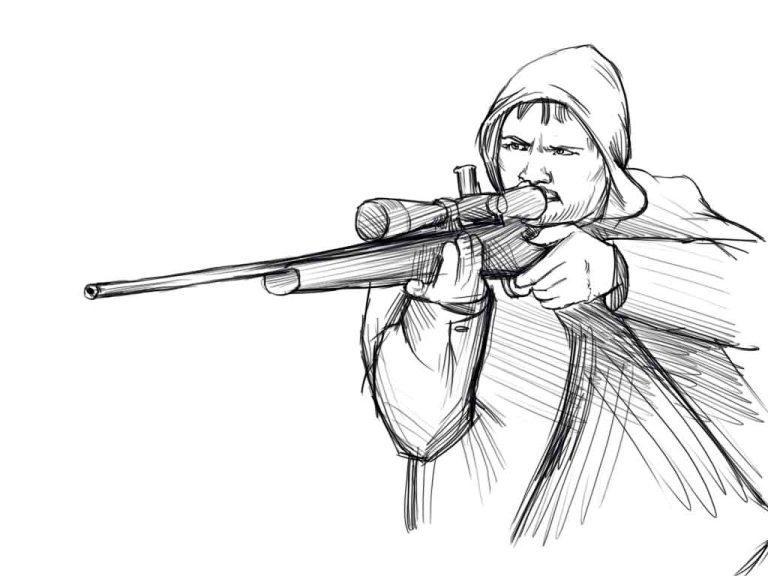 Как нарисовать стрелка