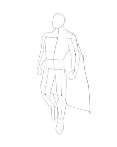 Как-нарисовать-супермена-карандашом-поэтапно-2