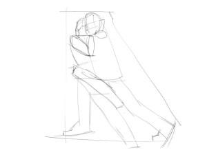 Как-нарисовать-танец-карандашом-поэтапно-2