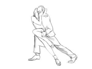 Как нарисовать танец? | Рисуем поэтапно танец живота, вальс Танец Живота Рисунок