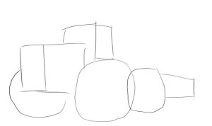Как-нарисовать-трактор-карандашом-поэтапно-1