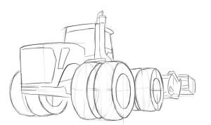 Как-нарисовать-трактор-карандашом-поэтапно-3