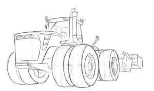 Как-нарисовать-трактор-карандашом-поэтапно-4