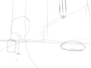 Как-нарисовать-улицу-карандашом-поэтапно-1