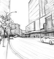 Как нарисовать улицу