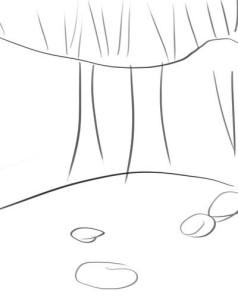 Как-нарисовать-водопад-карандашом-поэтапно-1