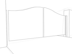 Как-нарисовать-ворота-карандашом-поэтапно-2