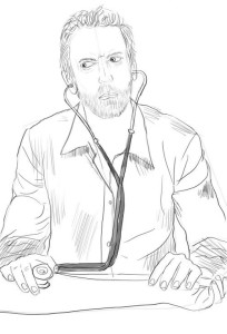 Как-нарисовать-врача-карандашом-поэтапно-3