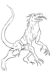 Как-нарисовать-ящерицу-карандашом-4