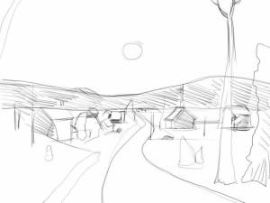Как-нарисовать-зиму-карандашом-поэтапно-3