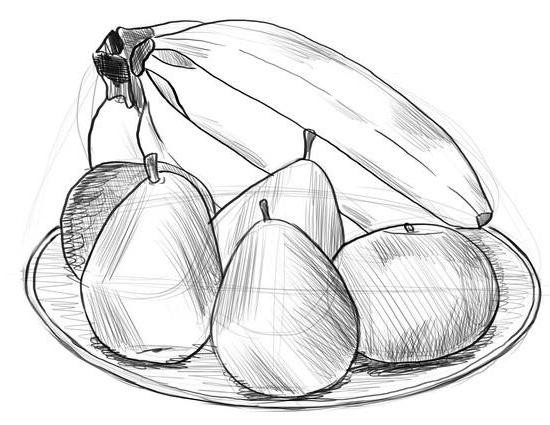 Как нарисовать фрукты?