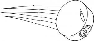 Как нарисовать хоккейную шайбу