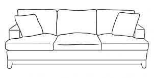 Как нарисовать диван?