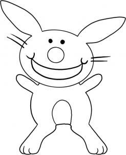 Как нарисовать кролика для детей?