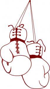 Как нарисовать боксерские перчатки?