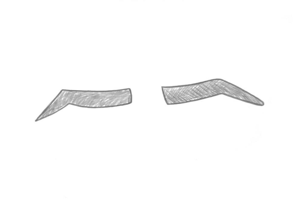 Как нарисовать брови ребенку