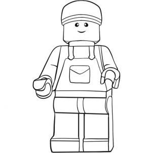 Как нарисовать лего человечка?