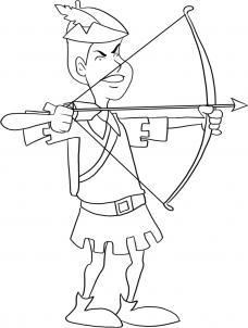 Как нарисовать лучника