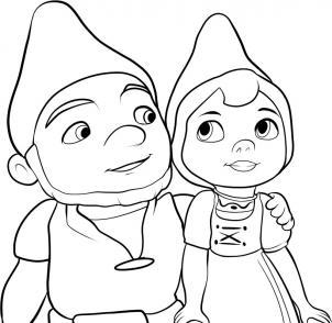Как нарисовать Гномео и Джульетта