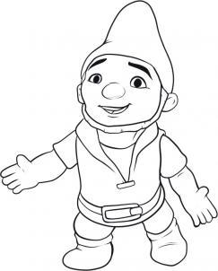 Как нарисовать Гномео