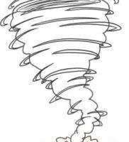 Как нарисовать торнадо