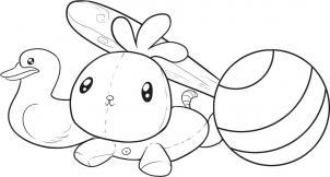 Как нарисовать детские игрушки