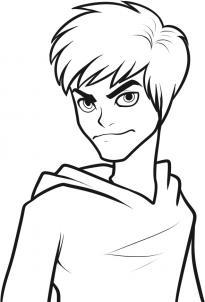 Как нарисовать Джека Фроста?