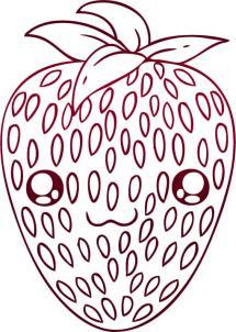 Как нарисовать клубнику?