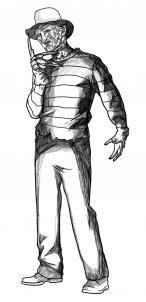 Как нарисовать Фредди Крюгера?