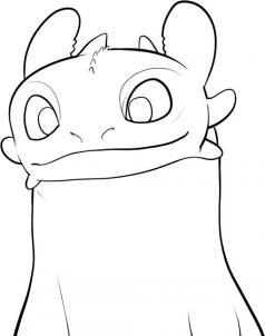 Как нарисовать Беззубика?