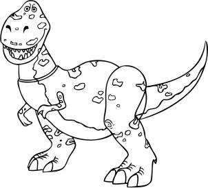 Как нарисовать динозавра Рекса