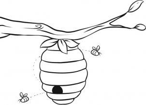 Как нарисовать улей