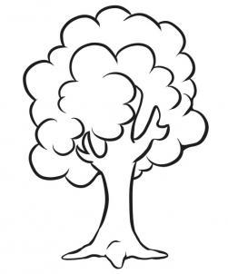 Как нарисовать дерево ребенку