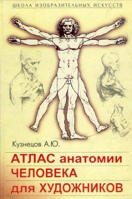 Атлас анатомии человека для художников. Кузнецов А.Ю.