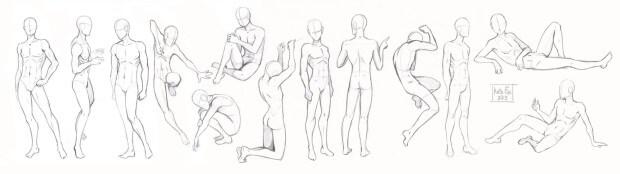 Анатомия человека в Аниме