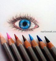 Как нарисовать глаза карандашом поэтапно
