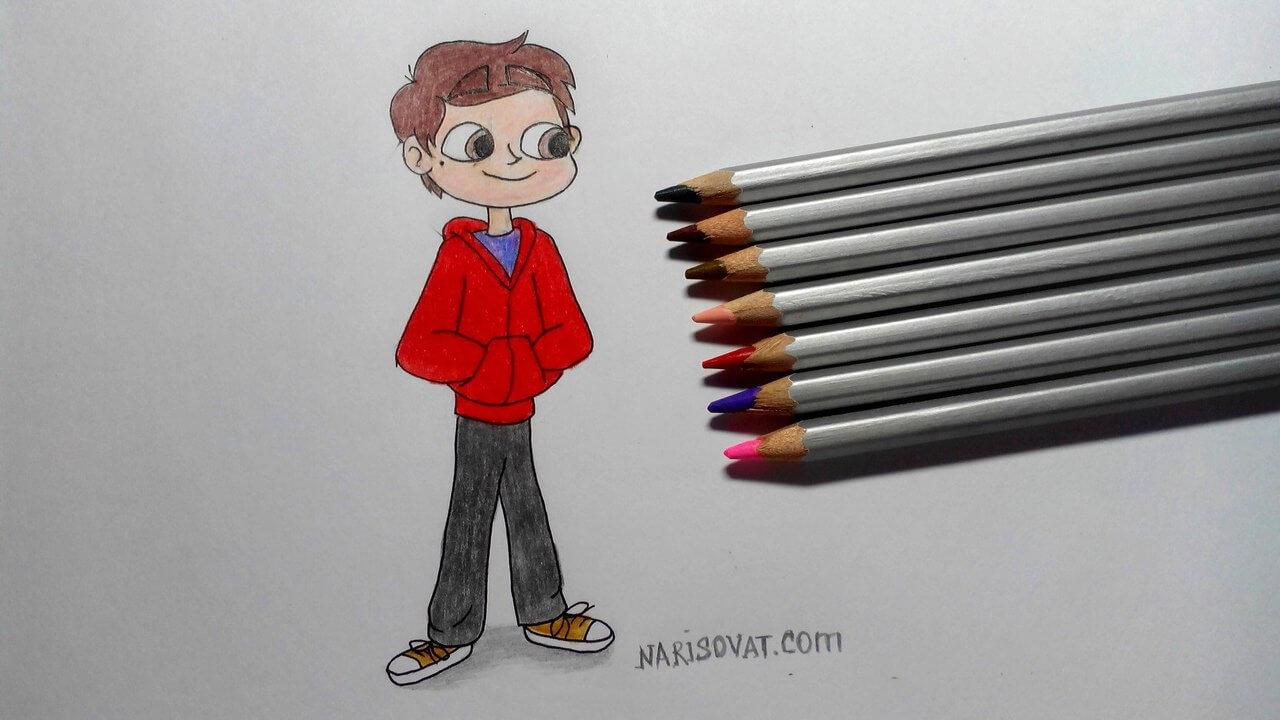 Как научится рисовать портреты цветными карандашами
