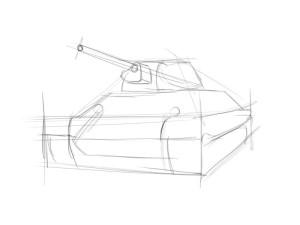 Как нарисовать танк? - 2