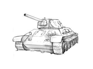 Как нарисовать танк? - 4