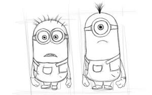 Как-нарисовать-Миньона-карандашом-поэтапно-4