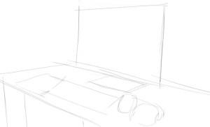 Как-нарисовать-компьютер-карандашом-поэтапно-1